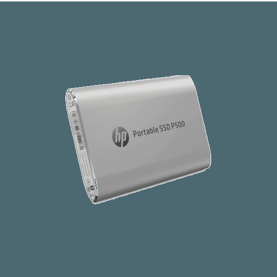 Unidad de Estado Sólido HP Portable P500 SSD-500G SILVER